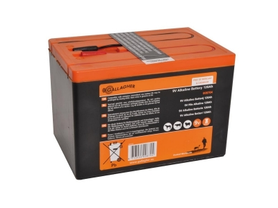Gallagher Powerpack Batterie (9V, 120Ah)
