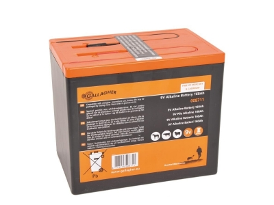 Gallagher Powerpack Batterie (9V, 160Ah)