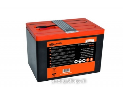 Gallagher Powerpack Batterie (9V, 175Ah)