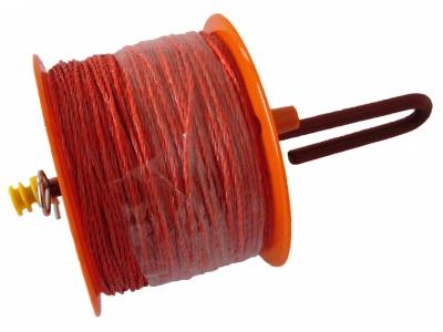 Lanker Nylon-Schnur auf Haspel