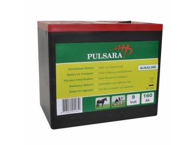 Pulsara Weidezaunbatterie Alkaline 9V,..