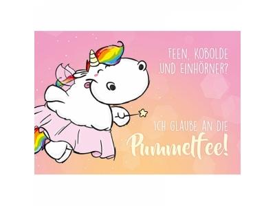 Pummeleinhorn: Postkarte Pummelfee