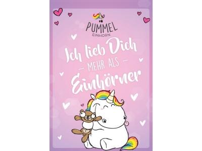 """Pummeleinhorn: Sammelblock, DIN A5, """"E.."""
