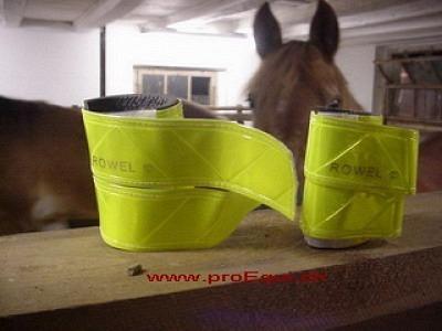 Pferde-Leuchtgamaschen gelb