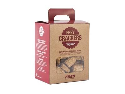 FREY CRACKERS mit Ingwer