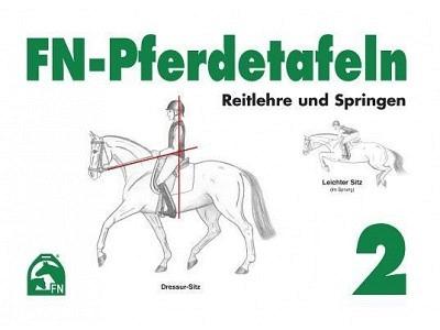 Buch: FN-Pferdetafeln 2 - Reitlehre und Springen
