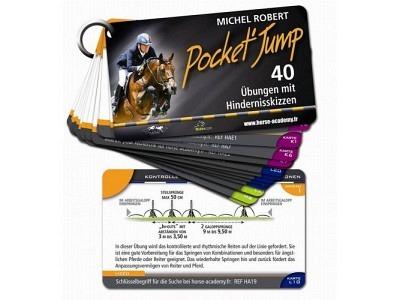 Buch: Pocket'Jump: 40 Übungen mit Hindernisskizzen - Michel Robert