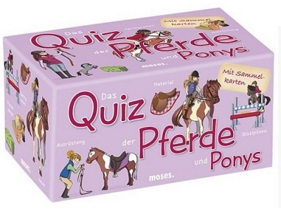 Buch: Das Quiz der Pferde und Ponys