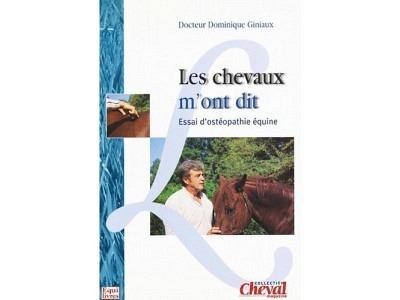 Livre: Les chevaux m'ont dit