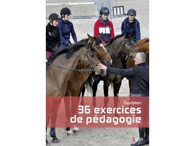 Livre: Equitation, 36 exercices de péd..