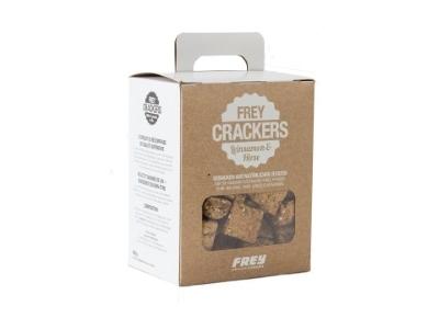 FREY CRACKERS mit Hirse und Leinsamen