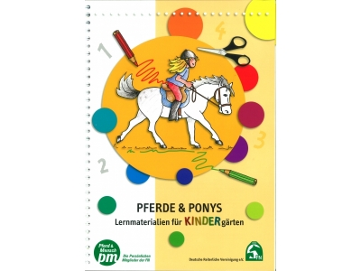 Buch: Pferde & Ponys - Lernmaterial für KINDERgärten