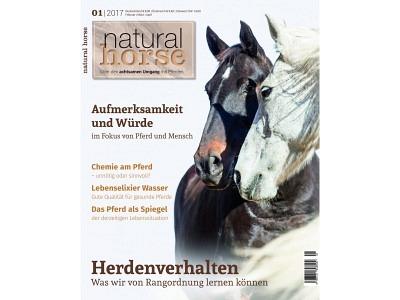 Magazin: NaturalHorse Aufmerksamkeit und Würe - 01/2017