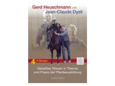DVD: Gerd Heuschmann trifft Jean-Claude Dysli Geballtes Wissen in Theorie und Praxis der Pferdeausbildung