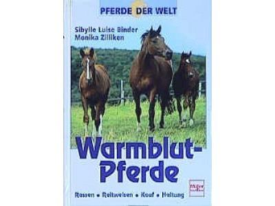 Buch: Warmblutpferde, Sibylle Binder
