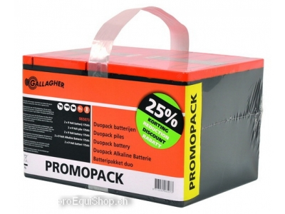 Gallagher Powerpack Batterie Doppelpac..