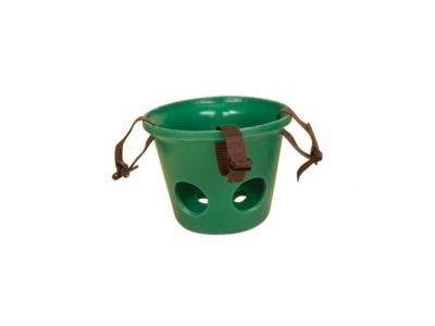 Kunststoff-Maulkorb grün Fohlen