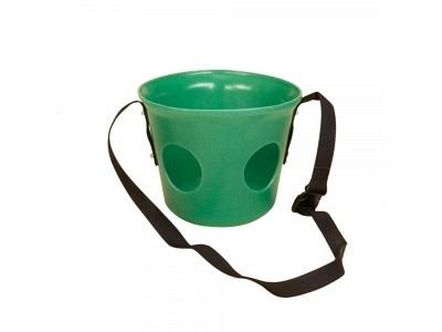 Kunststoff-Maulkorb grün Pferd